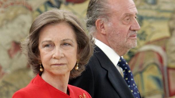Juan Carlos zahlt Königin Sofía jetzt ein festes Gehalt
