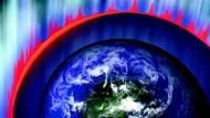 Ein ungeheures kosmisches Gewitter - aber keine unmittelbare Gefahr