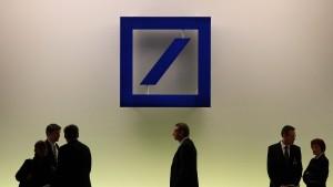 Deutsche Bank in der Zwickmühle