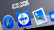 Milliardenfach geklickt: Die Software von Teamviewer.