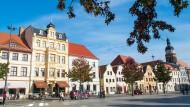 Schön anzusehen: der Altmarkt in Cottbus