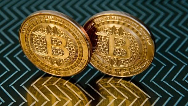 Bitcoin-Kurs sinkt um 1000 Dollar in 48 Stunden