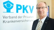 Sieht die PKV im Aufwind: Uwe Laue, Vorstandsvorsitzender des Verbandes der Privaten Krankenversicherung