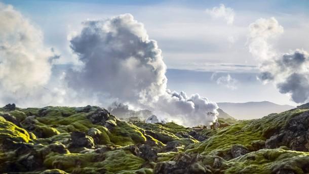 CO2 lässt sich bald nach Island verschiffen