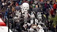 Aktivisten von Extinction Rebellion demonstrieren an diesem Wochenende in London.