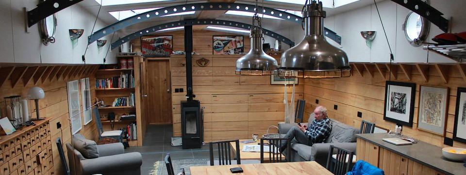 london immer mehr menschen leben auf hausbooten. Black Bedroom Furniture Sets. Home Design Ideas