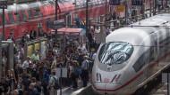Das große Gewusel am Frankfurter Hauptbahnhof