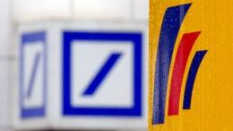 Deutsche Bank will Postbankfilialen nutzen