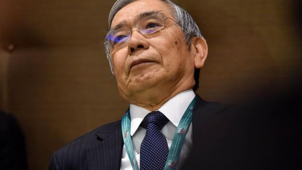 Japans Notenbank finanziert Geldgeschenk