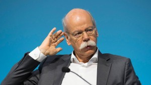 Daimler-Chef sieht Fahrverbote als Eigentor