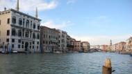 Wieder steuerfrei: Palazzi am Canal Grande in Venedig
