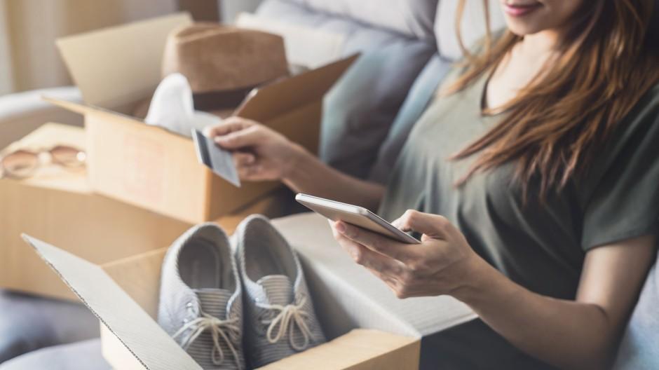 Schnell mal shoppen, ums Bezahlen macht man sich später Gedanken.
