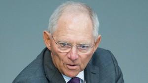 Schäuble: IWF dringt nicht auf Schuldenschnitt