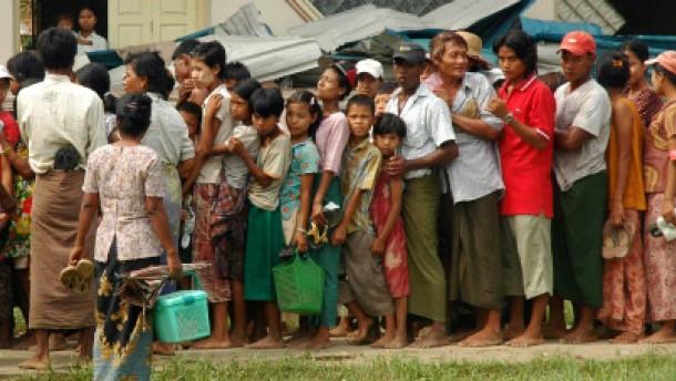 Burmas Elend treibt den Reispreis in die Höhe