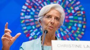 Lagarde: Deutschland muss Überschüsse investieren