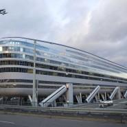 """The Squaire"" am Frankfurter Flughafen."