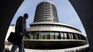 Das Gebäude der Bank für Internationalen Zahlungsausgleich in Basel