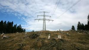 Merkel: Es wird große Stromtrassen geben