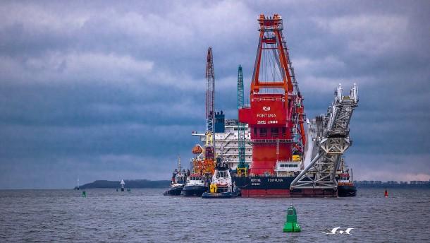 """Die """"Fortuna"""" verlegt jetzt die nächsten Teile von Nord Stream 2"""