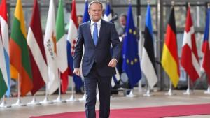 Der Brexit-Fahrplan der EU steht