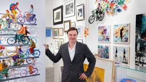 Für Daniel Goodwin wurde Kunst zum Beruf