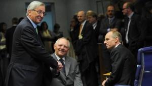 Finanzminister setzen Rettungsfonds ESM in Kraft