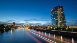 EZB fährt Anleihenkäufe zurück