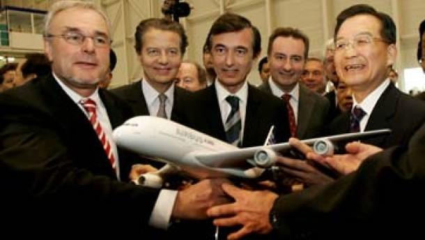 Rekordauftrag für Airbus aus China