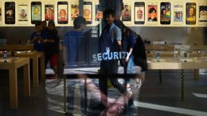 Apple will Regierung nicht verklagen