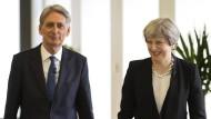 Britanniens Finanzminister Philip Hammond ist einer der wichtigsten Minister im Kabinett der Theresa May.
