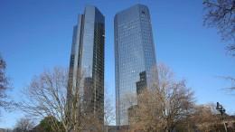 Die Deutsche Bank wird zum Anleger-Liebling