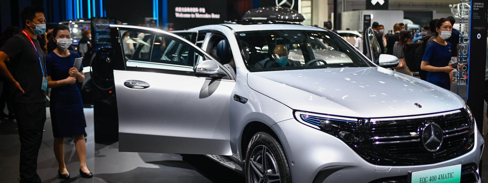 Mercedes schafft die Emissionsziele der EU