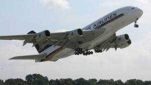 Der A380 tritt seinen Dienst an
