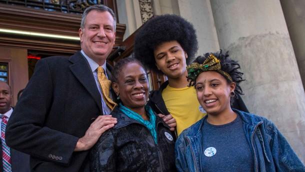 New Yorks Occupy-Bürgermeister