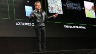 Jensen Huang in München: Der Gründer hat sein Unternehmen komplett transformiert – und setzt ganz auf Künstliche Intelligenz.