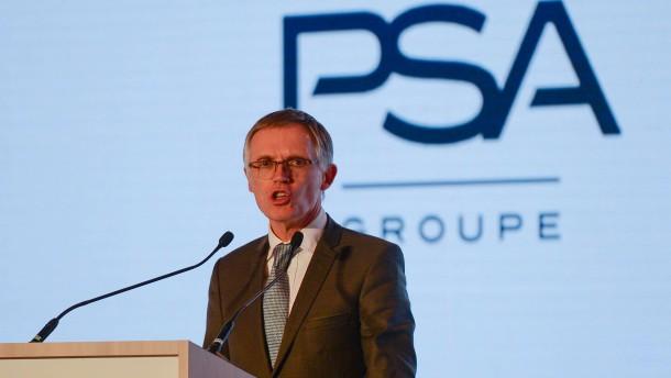 PSA-Chef: Sanierung von Opel noch nicht abgeschlossen