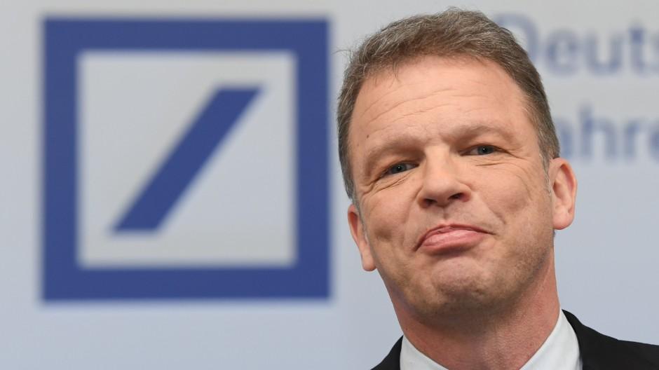In der Erfolgsspur: Christian Sewing, Vorstandschef der Deutschen Bank