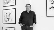 Eine Karriere voller Zufälle: Der Fotograf Michael Poliza in seiner Hamburger Galerie.