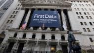 First Data ging im Oktober 2015 an die Börse.