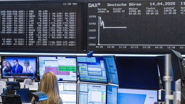 Dax profitiert von Konjunkturdaten aus China