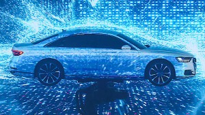 Der neue Audi mit dem Künstliche-Intelligenz-Knopf