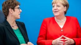 Merkel steht zur Schwarzen Null