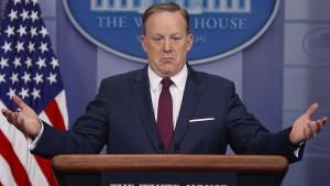 Spicer: Der Präsident hat alles gegeben