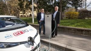 Ein europäisches Tankstellennetz für Elektroautos