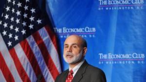 Bernanke sorgt sich um den Arbeitsmarkt