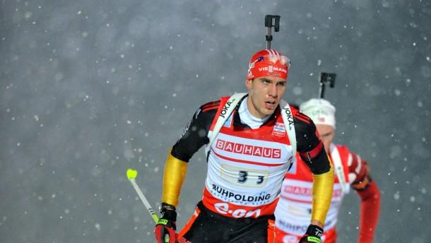 Biathlon-Weltcup Ruhpolding - 4 x 7,5 km Herren