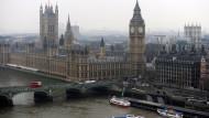 Londons Parlament mit dem Big Ben