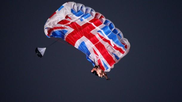 Olympia und Queen-Jubiläum stoppen vorerst britische Rezession