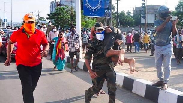 Mehr als 1000 Verletzte bei schwerem Chemie-Unfall in Indien