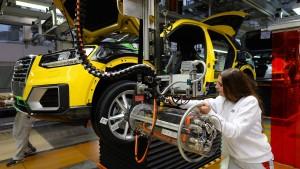 Wirtschaft erwartet schwaches Wachstum für 2017